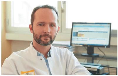 Грегори Роберт ‒ уролог отделения урологии и трансплантации почек Университетской больницы г. Бордо, Франция.