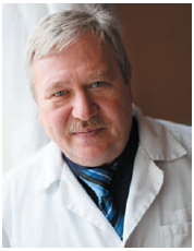 Главный редактор «РМЖ «Оториноларингология», д.м.н., профессор Сергей Валентинович Рязанцев