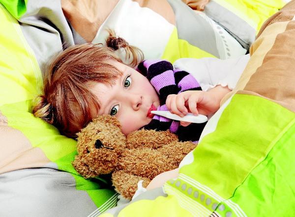 Маленькие дети с большой вирусной нагрузкой